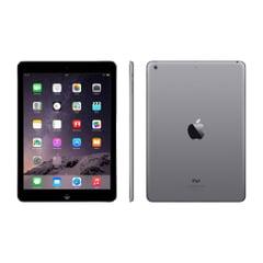 Apple iPad Air Wi-Fi - A1474, 9.7 Zoll  2048 x 1536 (QXGA), IPS, A7 Chip, 1 GB RAM, 16 GB Speicher, Silber, Aluminium Gehäuse, B-Ware, Ansicht Vorne- Seite- und Hinten