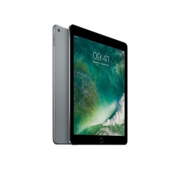 Apple iPad Air 2 Wi-Fi + Cellular, A9 64 Bit, 9,7 Zoll 2048 x 1536 (QXGA), IPS, GSM, 2 GB RAM, 16 GB Speicher, 8 MP Kamera, Grau, Alu, Ansicht von Vorne, A-Ware