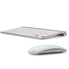 Apple Magic Mouse Maus + Keyboard Tastatur Deutsch Bundle A1296/A