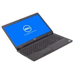 """Dell Latitude E5570,  6300U 2x 2.40 GHz, 39 cm (15,6"""") Touchscreen, LED 1920 x 1080 Pixel (Full HD), 16GB DDR4, 512GB SSD, Schwarz, A-Ware, Ansicht von Vorne"""