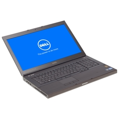 "Dell Precision M6700, i7-3740QM, 17,3"" HD+ (1600x900) LED, 256GB SSD, 16GB DDR3, Schwarz, A-Ware, Ansicht von Vorne"