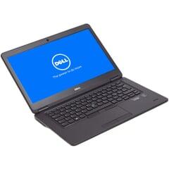Dell Latitude E7450, Core i5-5300U, Display 14''  FWXGA (1366×768), WLED, 8 GB DDR3L, 256 GB SSD, Schwarz, A-Ware, Ansicht von Vorne