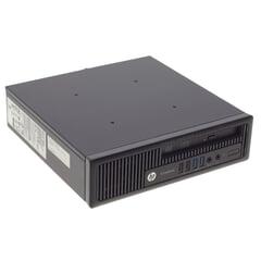 HP EliteDesk 800 G1 PC, ntel Pentium G3220 3 MB Cache, 4 GB RAM, 500 GB HDD, Ansicht von Vorne horizontal mit 2* USB3 und 2* USB2