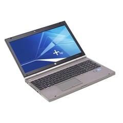 """HP EliteBook 8570p, i5-3320M (3M Cache, 2.60 GHz), 15.6"""" LED- 1600x900, 8GB DDR3, 320GB, Grau, A-Ware, Ansicht von Vorne"""