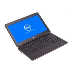 Dell Latitude E7250, 12-Zoll-Bildschirm (1366x768), i5-4310U, 8GB RAM, 128GB SSD, schwarz, A-Ware, Ansicht von vorne