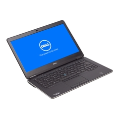 Dell Latitude E7440, i5-4300U, Display 14 Zoll  1366×768 (FWXGA) LED-Backlight, 8GB DDR3, 256GB SSD, Schwarz, A-Ware, Ansicht von Vorne