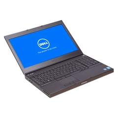 "Dell Precision M4800, i7-4800QM, 15,6"" Full-HD 1920x1080, 8GB DDR3L, 320GB HDD, Schwarz, B-Ware,  Ansicht von Vorne"