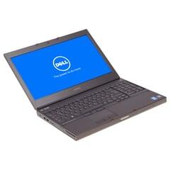 Dell Precision M4800, 15,6 Zoll, Auflösung: 1920x1080 (Full HD), entspiegelt, i7-4900MX (2.80 GHz), 16 GB RAM, 512GB SSD + 500GB HDD, Schwarz, A-Ware, Ansicht von Vorne