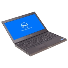 Dell Precision M4800, 15,6 Zoll, Auflösung: 3840x2160, i7-4900MQ, 16 GB RAM, 256GB SSD, Schwarz, A-Ware, Ansicht von Vorne