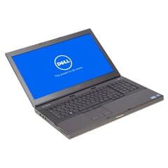 Dell Precision M6600, i7-2720QM, 17,3-Zoll Full-HD AntiGlare (1600 x 900), 16GB DDR3, 256GB SSD, Schwarz, A-Ware, Ansicht von Vorne