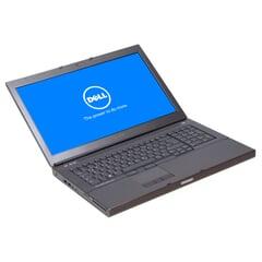 "Dell Precision M6800, i7-4800MQ, 17,3"" 1600×900 (HD+) LED, 500GB, 8GB DDR3, Schwarz, B-Ware, Ansicht von Vorne"