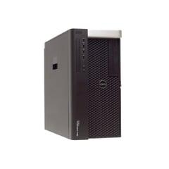 Dell Precision T7610 Workstation PC, Xeon E5-2697 v2, 32GB RAM, 500GB SSD, 2TB HDD, B-Ware, Ansicht von vorne