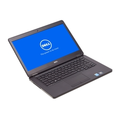 "Dell Latitude E7440, i5-4300U, 35,6cm (14"") 1366×768 (FWXGA) LED-Backlight, 8GB DDR3, 256GB SSD, Schwarz, A-Ware, Frontansicht"