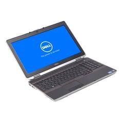 "Dell Latitude E6520, i5-2520M (3M Cache, 2.50 GHz), 15.6"" LED 1366×768 (FWXGA), 8 GB DDR3, 256 GB SSD, Grau, A-Ware, Ansicht von Vorne"