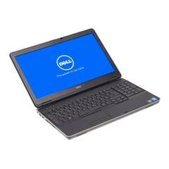 "Dell Latitude E6540,  i5-4300M, 15,6"" 1366×768 (FWXGA), 4GB DDR3, 320GB, Grau, A-Ware, Ansicht von Vorne"