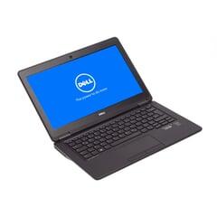 Dell Latitude E7250, i5-5300U (3M Cache, 2.30 GHz), 12,5'', 1366x768, WLED, 8 GB DDR3L, 256 GB SSD, Schwarz, A-Ware, Ansicht von Vorne