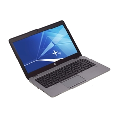 """HP EliteBook 840 G1, i7-4600U (4M Cache, 2,10GHz), 14"""" Touchscreen 1600×900 (HD+), 8192MB DDR3L, 256GB SSD, Grau, A-Ware, Ansicht von Vorne"""