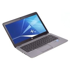 "HP EliteBook 840 G1, i5-4300U (4M Cache, 2,10GHz), 14"" LED Blendfreies 1366x768, 8192MB DDR3L, 256GB SSD, Grau, A-Ware, Frontansicht"