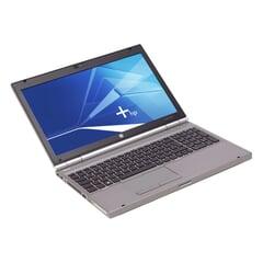 "HP EliteBook 8560p, i5-2520M (3M Cache, 2.50 GHz), 15.6"" LED- 1366x768 FWXGA mit Kamera, 4GB DDR3, 320GB, Silber, A-Ware, Frontansicht"