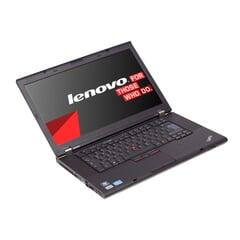 Lenovo ThinkPad T520, 15-Zoll-Display (1366x768), i5-2520M, 4GB RAM, 320GB HDD, Schwarz, A-Ware, Ansicht von vorne
