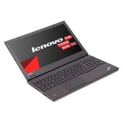 """Lenovo ThinkPad W540,  i7-4800QM, 15,5"""" LED-Display 1920x1080 mit IPS, 8GB DDR3L, 500GB, Schwarz, B-Ware, Ansicht von Vorne"""