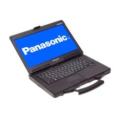 """Panasonic Toughbook CF-53 (MK4), i5-4310U (3M Cache, 2,0 GHz), 14"""" 1366 x 768 Pixel (HD), 4GB DDR3, 250GB SSD, Silber, A-Ware, Ansicht von Vorne"""