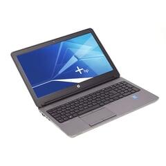 """HP ProBook 650 G1, i5-4310M 2,70 GHz, 15,6"""" 1366×768 FWXGA, 8GB, 128GB SSD, Schwarz, A-Ware, Ansicht von Vorne"""