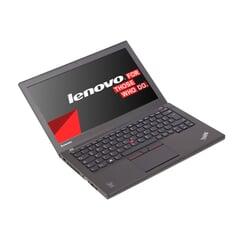 """Lenovo ThinkPad X250, i5-5300U (3M Cache, 2.30 GHz), 12,5"""" HD TN (1.366 x 768), 8GB DDR3, 128GB, Schwarz, A-Ware, Ansicht von Vorne"""