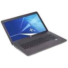 HP ZBook 17 G3, 17-Zoll-Bildschirm (1920x1080), i7-6820HQ, 32GB RAM, 1TB SSD, schwarz, A-Ware, Ansicht von vorne