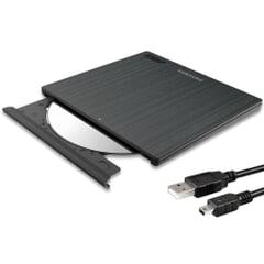 Samsung SE-218 DVD-Brenner extern USB (1,4cm flach)