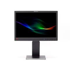 Produktname: Lenovo ThinkVision L1951p; Displaytyp: LCD 48.3cm 19 Zoll; Auflösung: 1440x900; Ansicht: von Vorne;
