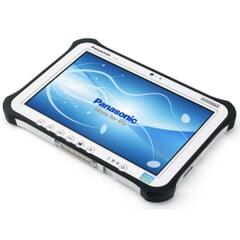 Panasonic Toughpad FZ-G1 Tablet, Intel Core i5-3437U vPro, 4 GB RAM, 128 GB SSD, Outdoor-Display 10,1 Zoll WUXGA 1920 x 1200, Win 8.1 Pro, Wasserdicht, Akku wechselbar, Ansicht von Vorne, A-Ware