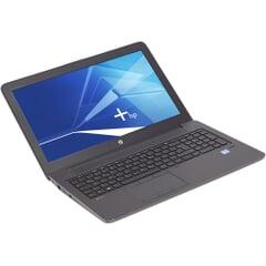 HP ZBook 15 G3, 15-Zoll-Display (1920x1080), i7-6820HQ,16GB RAM, 512GB SSD, schwarz, Generalüberholt, Ansicht von vorne